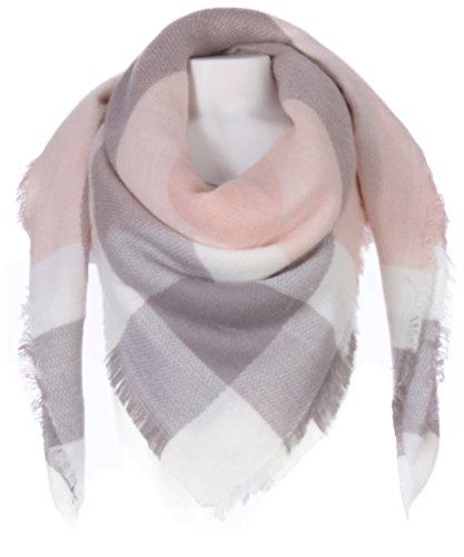 xxl-schal-karo-pink-grau-weiss