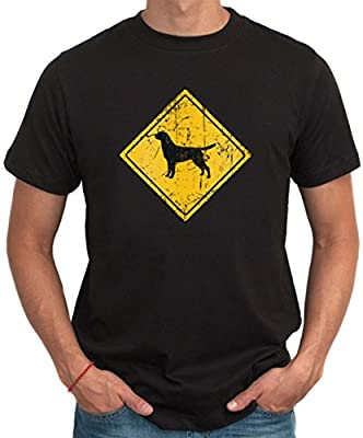Labrador Retriever SIGN OLD VINTAGE Men T-Shirt