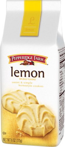 Pepperidge Farm Lemon Cookies, 6-ounce (pack of 4)