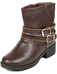 TEN Brown Leather Boot-TENBTTB-511BRW