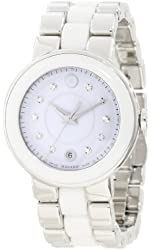 "Movado Women's 0606540 ""Cerena"" Stainless Steel Diamond-Accented Watch"