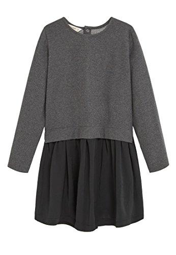 MANGO KIDS – Kleid mit Kleider kontrastoberteil