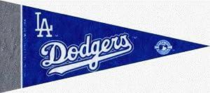 MLB Mini Los Angeles Dodgers Pennant, (2-Pack)