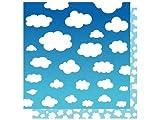 Best Creations CLR Clouds Glitter Paper