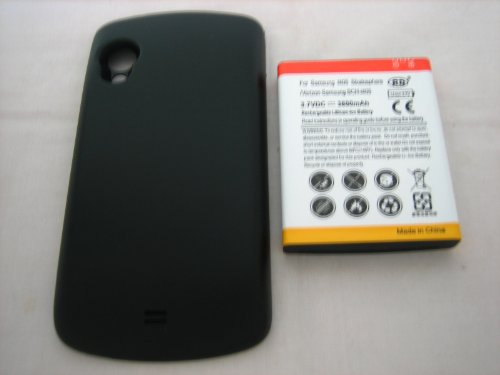Verizon Samsung Stratosphere Sch-I405 ~ Extended Capacity 3800Mah Li-Ion Battery + Back Cover ~ Mobile Phone Repair Parts Replacement