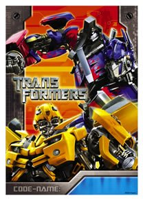 Transformers Loot Bags 8ct