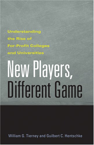 New Players, Different Game: Understanding the Rise of...