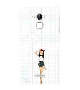 EPICCASE Freeky dress Girl Mobile Back Case Cover For CoolPad Note 3 (Designer Case)
