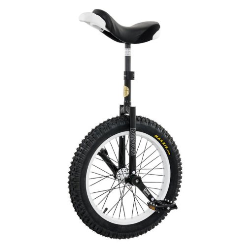 Nimbus 20 Inch Signature Oreo Trials Unicycle with ISIS Hub - Oreo