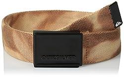 Quiksilver Men's Cotton Belts (UQYAA03130_Henna) (888256928336)
