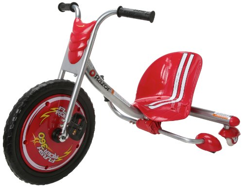 Razor FlashRider 360 Caster Trike, Red