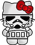 Stormtrooper Hello Kitty Car Window W...