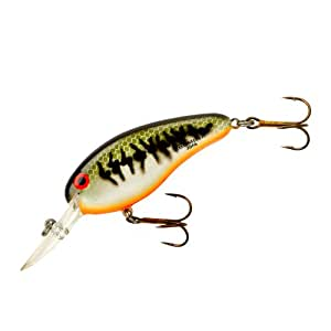 Bomber flat a fishing lure baby bass orange for Amazon fishing lures