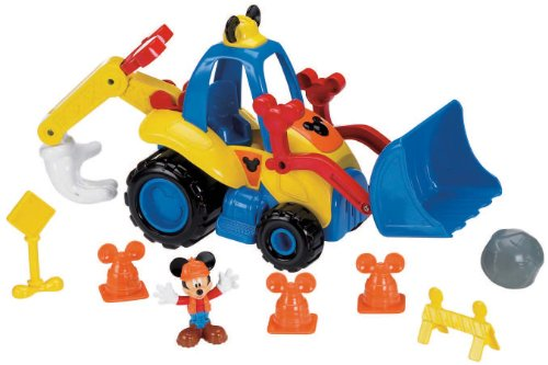 De Fisher-Price Disney Mickey Mouska Dozer