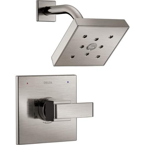 Delta T14267 Ara Monitor 14 Series Single Function Pressure Balanced Shower Trim, Brilliance Stainless (Ara Shower Head compare prices)