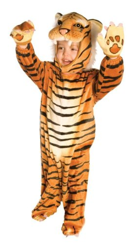Plush Brown Tiger Toddler Costume 2T-4T - Toddler Halloween Costume