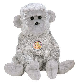 TY Beanie Baby - VIRUNGA the Monkey (BBOM June 2003) - 1