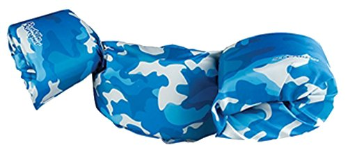 Stearns Kids Puddle Jumper Deluxe Life Jacket,30-50 lbs.,Blue Camo