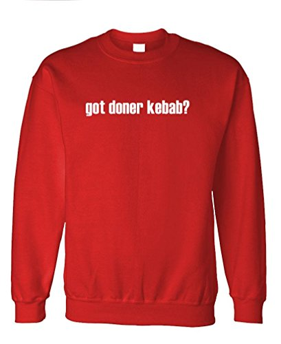 Got Doner Kebab? - Mens Fleece Sweatshirt, M, Red