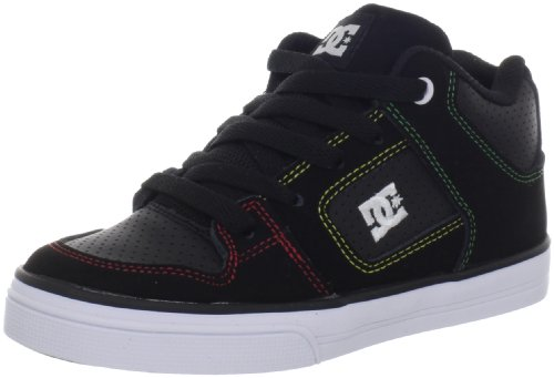 Dc Shoes Radar Black/Rasta Fashion Sports Skate Shoe D0302402A 10 UK Junior, 11 US