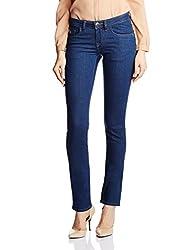 U.S.Polo Assn. Women's Skinny Jeans (UWJN0174_Blue_X-Large)
