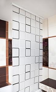 ks handel 24 quadro tenda a rullo per doccia 140 cm di. Black Bedroom Furniture Sets. Home Design Ideas