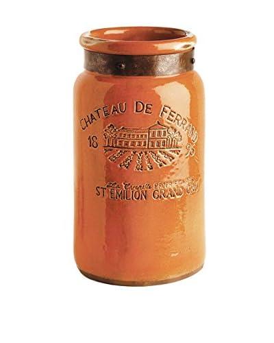 Napa Home & Garden Chateau Vase, Orange