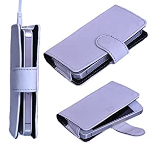 StylE ViSioN Pu Leather Pouch for Karbonn A50