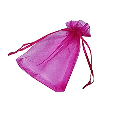 Candy Small Bag DZT1968® 100pcs Organza Wedding Party Decoration Gift Candy Sheer Bags Pouches