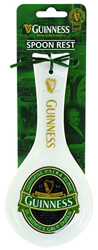Ceramic Guinness Ireland Spoon Rest With Extra Stout Label Design