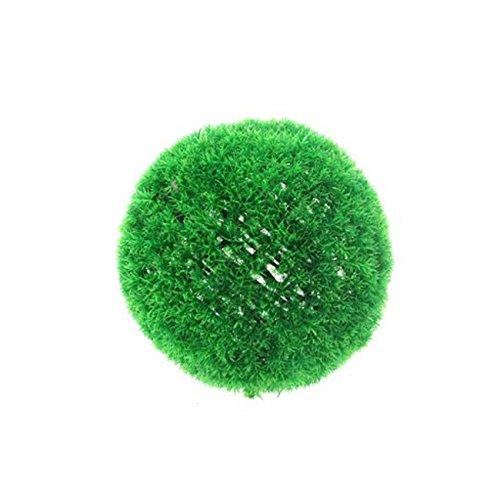 Siepe sferica artificiale erbetta 38 cm Confezione 4 Pz