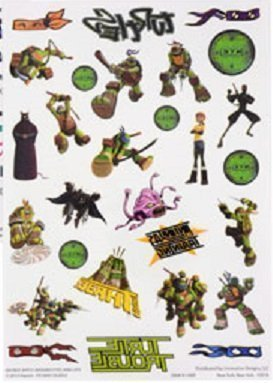 Teenage Mutant Ninja Turtles Temporary Tattoos, Package of 28 - 1