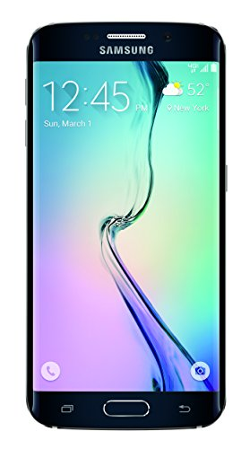 Samsung Galaxy S6 edge 4G LTE with 128GB Memory Cell Phone Black Sapphire (Verizon Wireless) SMG925VZKF