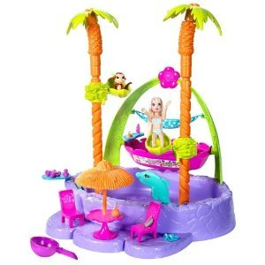 Polly Pocket Tropical Splash Adventure Play Set Amazon.com
