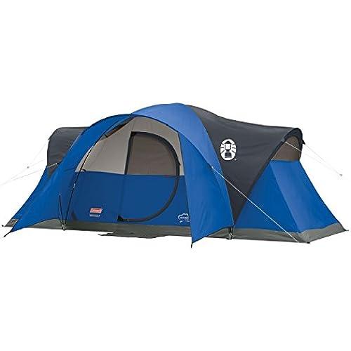 [해외] (콜맨) COLEMAN MONTANA 8-PERSON TENT BLUE 콜맨 몬태나8명의 텐트 [병행수입품] DOLZIKGOO
