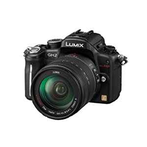 Panasonic Lumix DMC-GH2HEB-K Digital Camera with 14-140mm Lens Kit - Black
