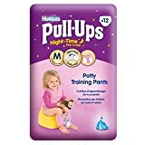 Huggies Medium Night Time Pull-Ups for Girls 12 per pack