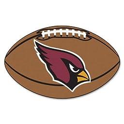 Arizona Cardinals Football Rug - NFL Shaped Accent Floor Mat