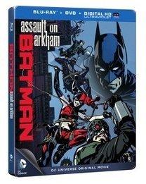 DCU Batman: Assault on Arkham (Blu-ray+DVD+ Digital HD UltraViolet) (Steelbook)
