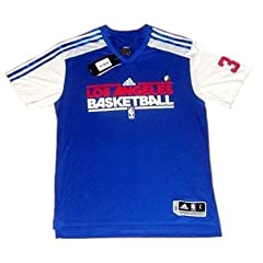 NBA Adidas Los Angeles Clippers Griffin Basketball Gametime Shirt by adidas