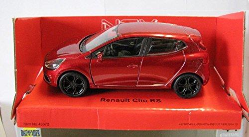DieCast-Welly-Modellauto-136-39-Renault-Clio-RS-rot-neu-und-box