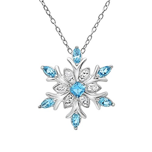sterling-silver-blue-and-white-snowflake-pendant-necklace-with-swarovski-crystals