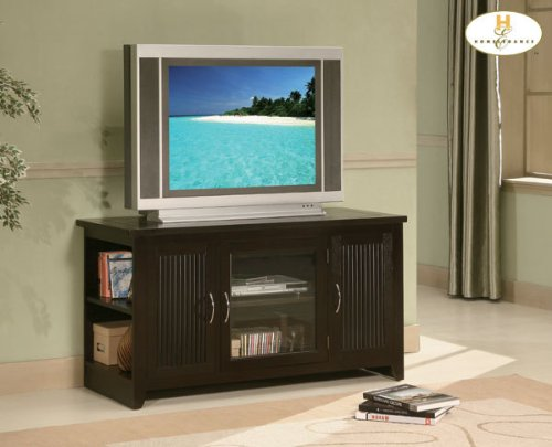 Cheap Homelegance Pepperville 48 Inch TV Stand in Espresso (8046-T)