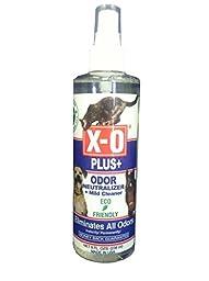 X-O Plus Odor Neutralizer/Cleaner Ready-To-Use Spray, 8-Ounce