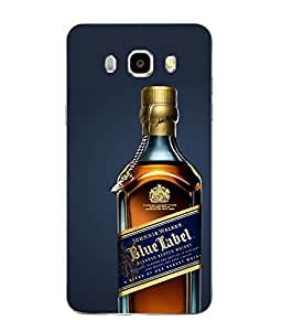 Snazzy Wine Printed Multicolor Soft Back Cover For SAMSUNG Galaxy J5 - 6 (New 2016 Edition)