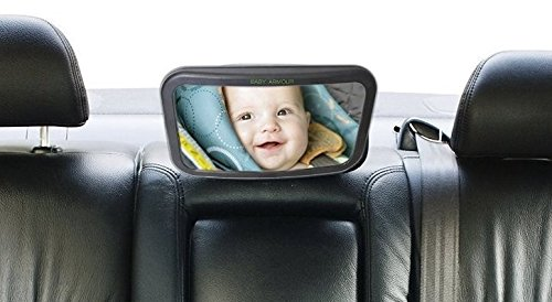 Back Seat Baby Mirror For Car - Rear View Mirror to See Babies and Children - Fits All Car Seats