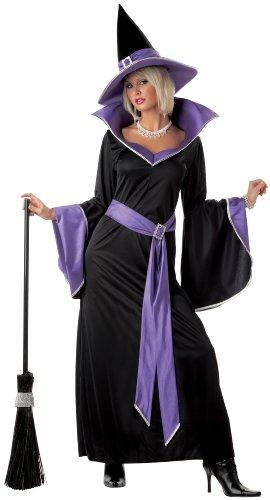 California Costumes Women's Incantasia, The Glamour Witch,Black/Purple,Small Costume