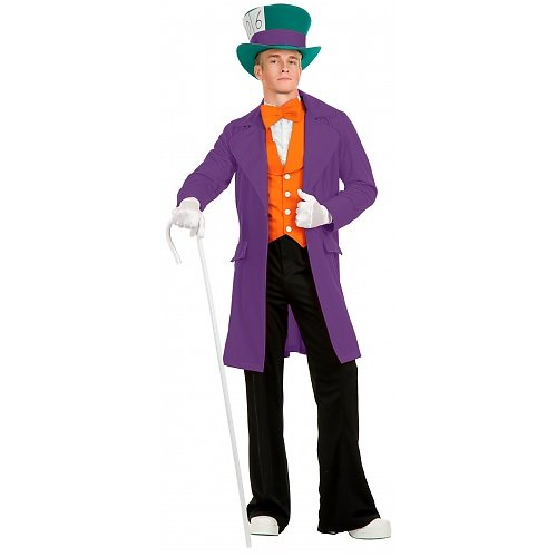 Electric Mad Hatter Adult Costume