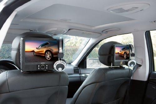aeg dvd 4552 lcd car cinema lettore dvd con telecomando a. Black Bedroom Furniture Sets. Home Design Ideas