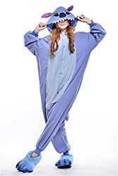 VU ROUL Anime Home Clothing Adult Cosplay Lilo and Stitch Costume Style Pajamas